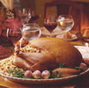 Праздничный стол в День Благодарения