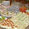 Новогодний стол а-ля фуршет — свежая идея!