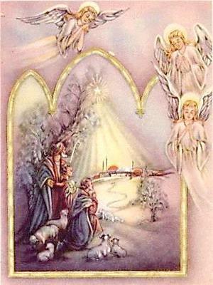 Явление трех ангелов пастухам