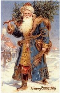 Святой Николай (Санта Клаус) - символ Рождества