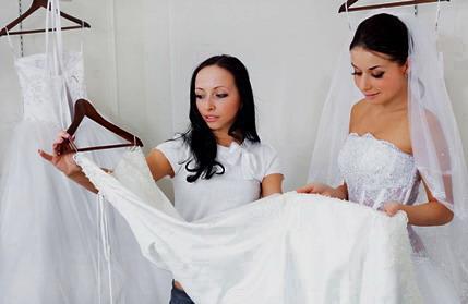 Берём свадебное платье напрокат