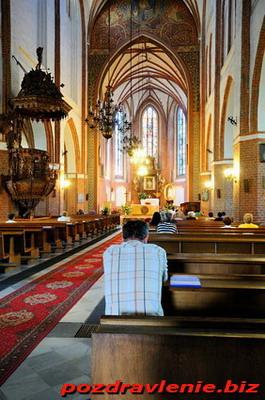 Как вести себя в католическом храме