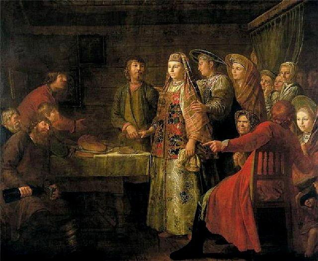 Сватовство на Руси. Свадебные обычаи