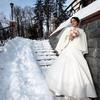 Зимняя свадьба: просто сказка!