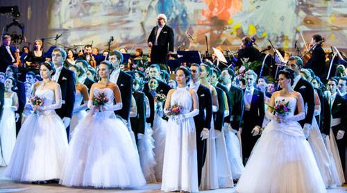 Дебютанты Венского бала в Москве 2012