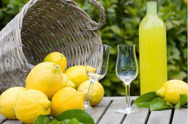 Ликер лимонный