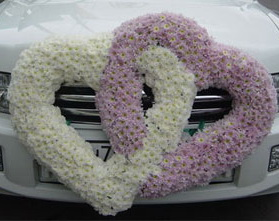Украшение свадебного автомобиля своими руками