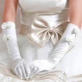 Выбираем перчатки к свадебному платью