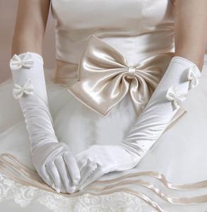 свадебные перчатки до локтя