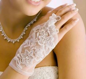 короткие перчатки-митенки