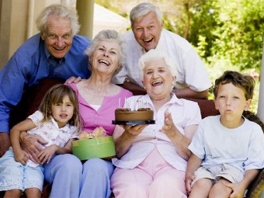 Праздник для дедушек и бабушек