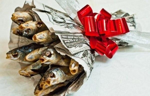 Съедобные подарки на 23 февраля мужчинам