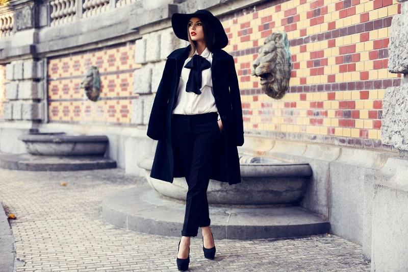 Силуэты модных пальто