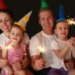 Как встретить Новый Год вместе с детьми