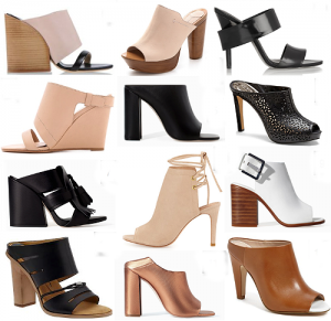 С чем носить туфли «мюли»