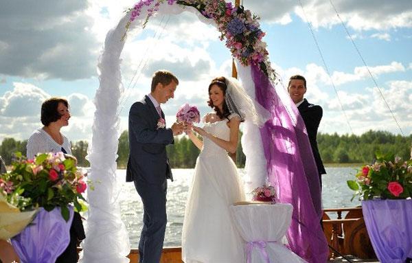 Свадьба на теплоходе - советы по организации
