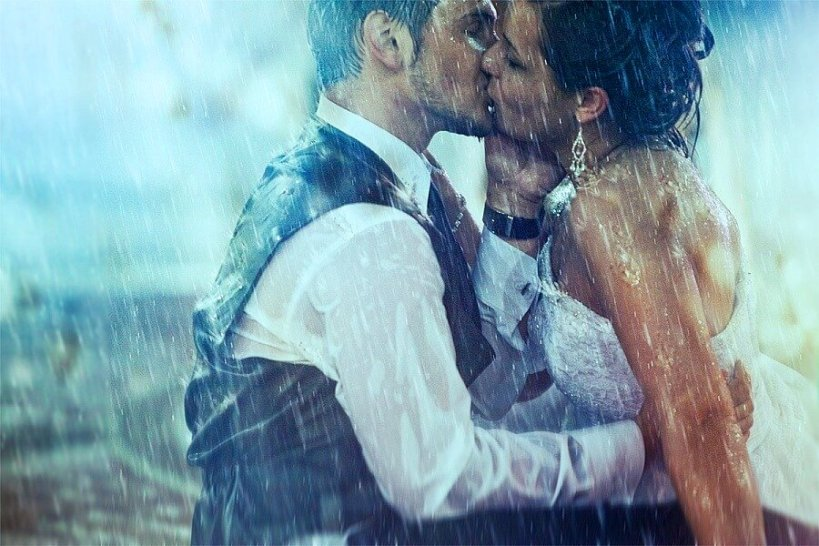 Двое под дождем