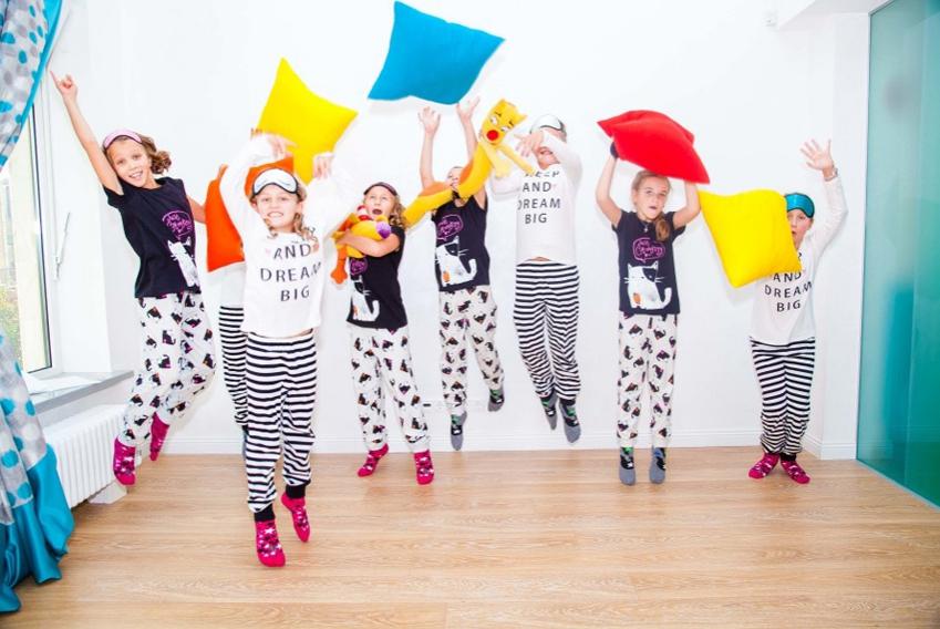 Как устроить детскую пижамную вечеринку