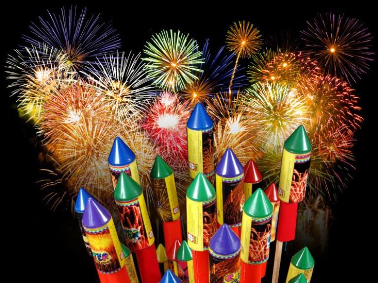 как выбрать фейерверк на Новый год