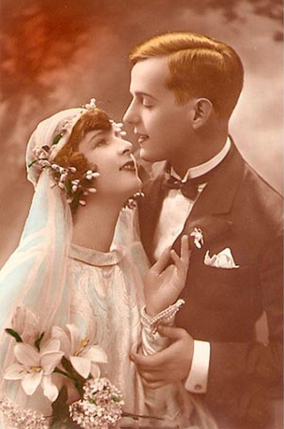Свадебная мода 20-х годов