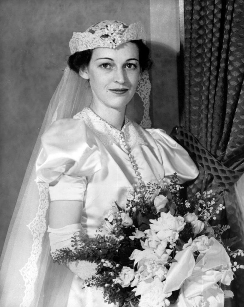 Свадебная мода 30-х годов