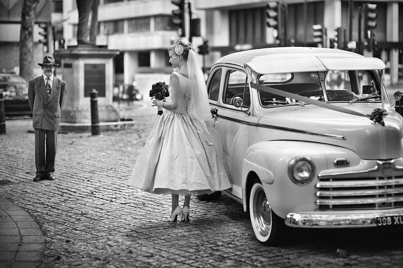 Свадьба в стиле 50-х годов