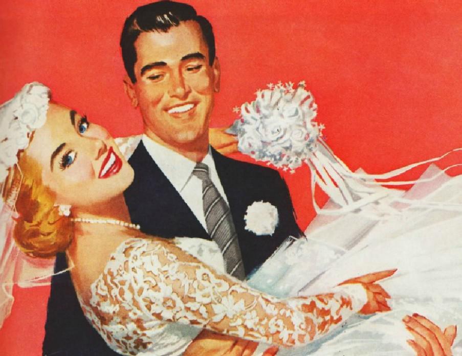 Как организовать ретро-свадьбу