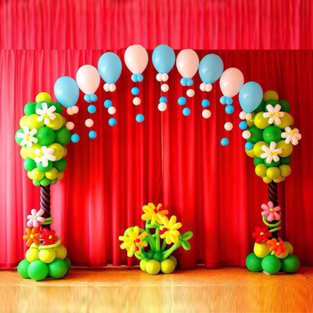 Украшаем праздник шарами