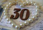 Жемчужная свадьба — 30 лет вместе
